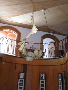 Spiraling is installed at threefold Education Center in Spring Valley, NY
